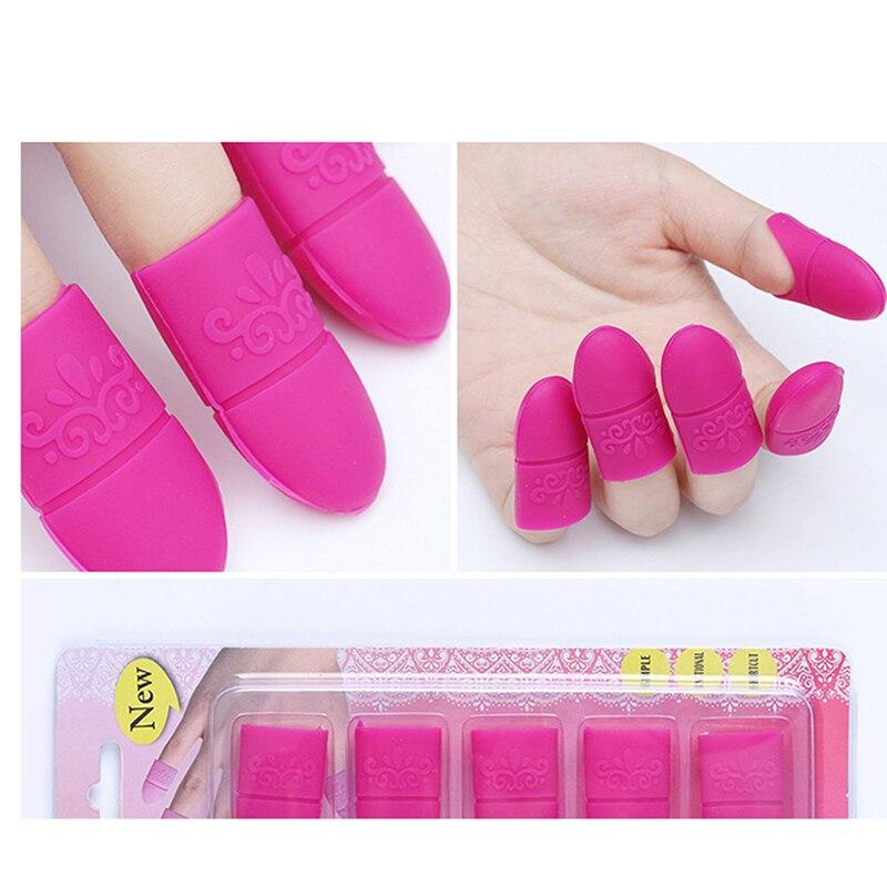 Лак для ногтей для удаления био-Гели Soak Off шапки многоразовые для маникюра Лак для ногтей УФ-гель для ногтей для удаления очистки