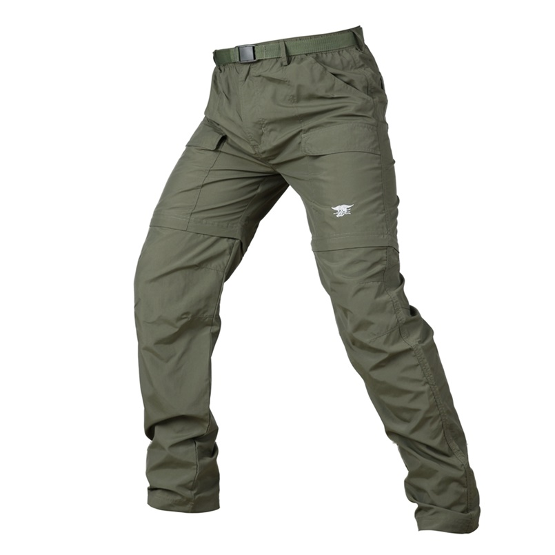 Mens Quick Dry Outdoor Waterproof Hiking Climbing Combat Trousers Tactical Pants