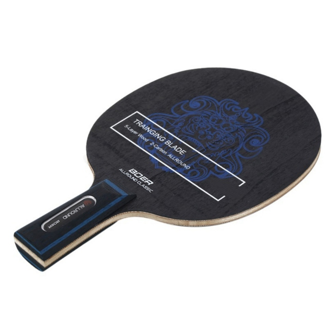 Table Tennis Racket Pimples-in Rubber 7 Baseboard Layers Wooden Bottom Ping-pong Bats Racquet Sports Accessories 5