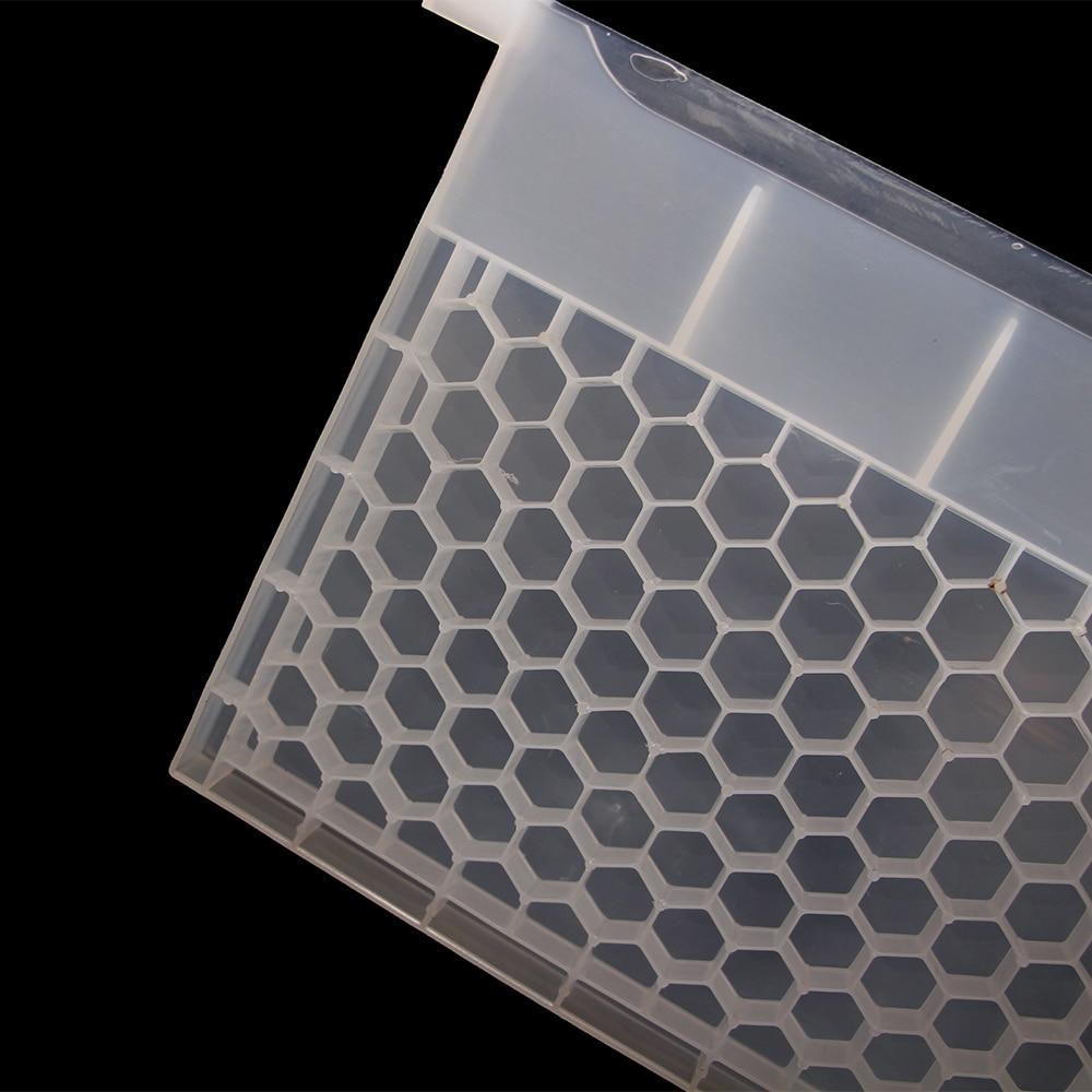 White Plastic Honey Multifunctional Water Feeder Beekeeping Bee Hive Tool Supply