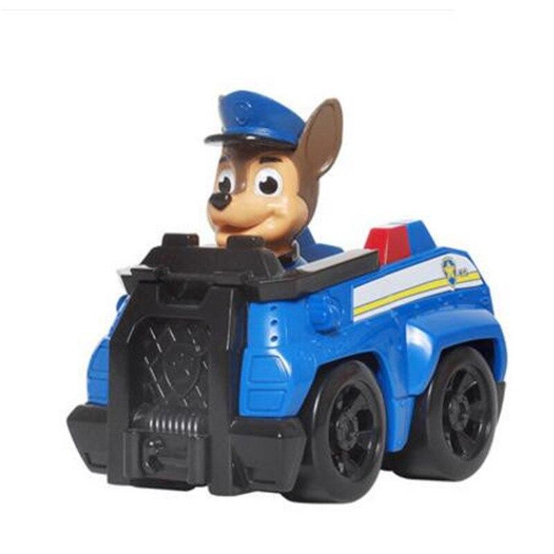 Paw Patrol, набор игрушек, собака Patrulha Canina, аниме, фигурка автомобиля, фигурки, украшения, игрушки для детей, подарки на день рождения 2D32 - Цвет: 3 no box