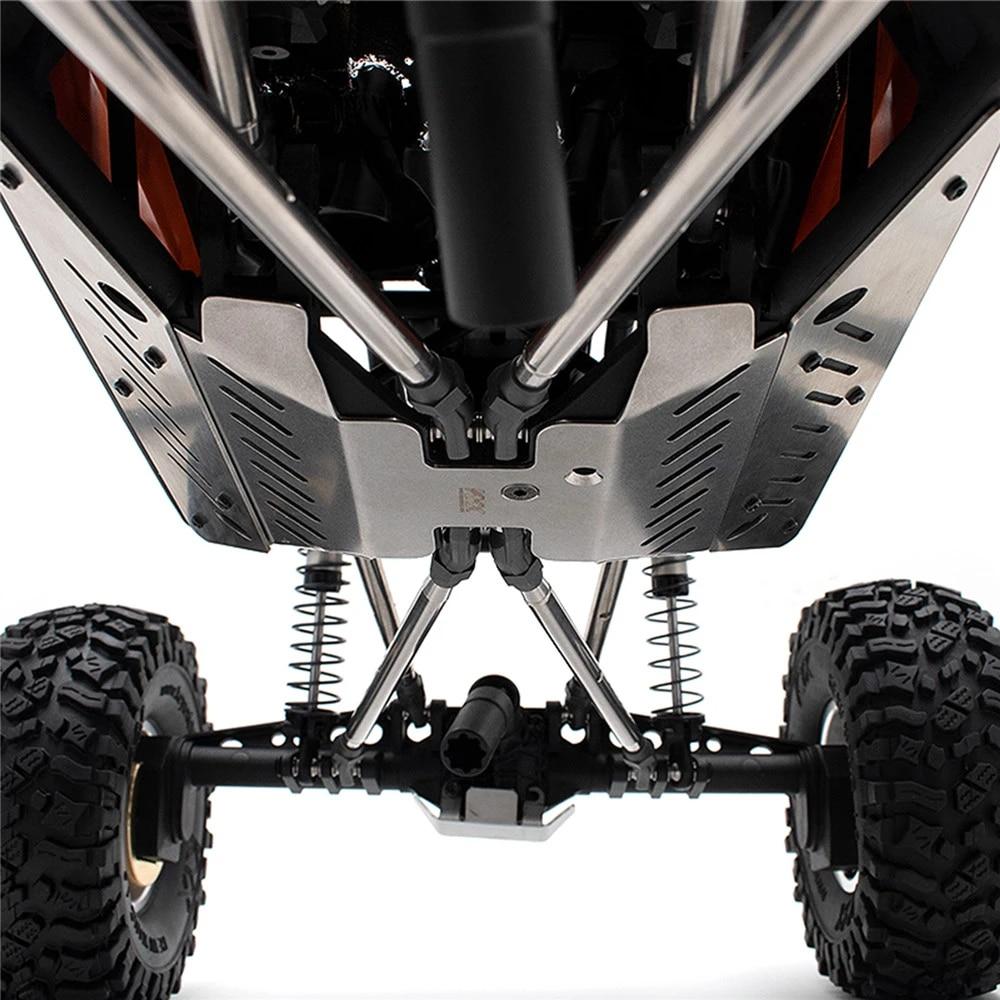 Für 1:10 Axial Capra UTB RC Auto Aluminium Metall Frame Rahmenschutz Guard Cover