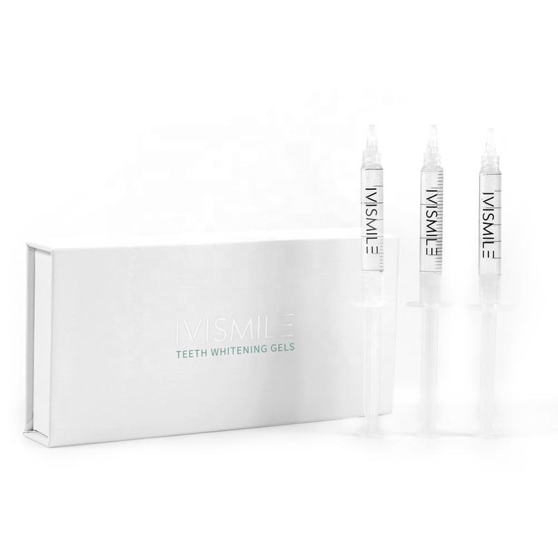 CE FDA Certificate 35% Peroxide 3*3ml Teeth Whitening Gel Syringe In Teeth Whitening Dental Material Dropshipping