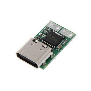 "Image 5 - סוג C USB מהיר טעינה דמה גלאי הדק סקר Mudule פ""ד 5A 9 V/12 V/15 v/20 V אוטומטי מבחן 95AD"