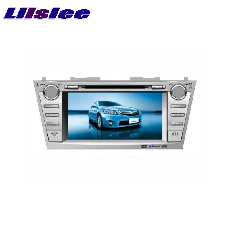 Для Toyota Camry/XV40 2007 ~ 2011 LiisLee Автомобильный мультимедийный ТВ DVD GPS аудио стерео Hi Fi радио оригинальный стиль навигация NAV NAVI