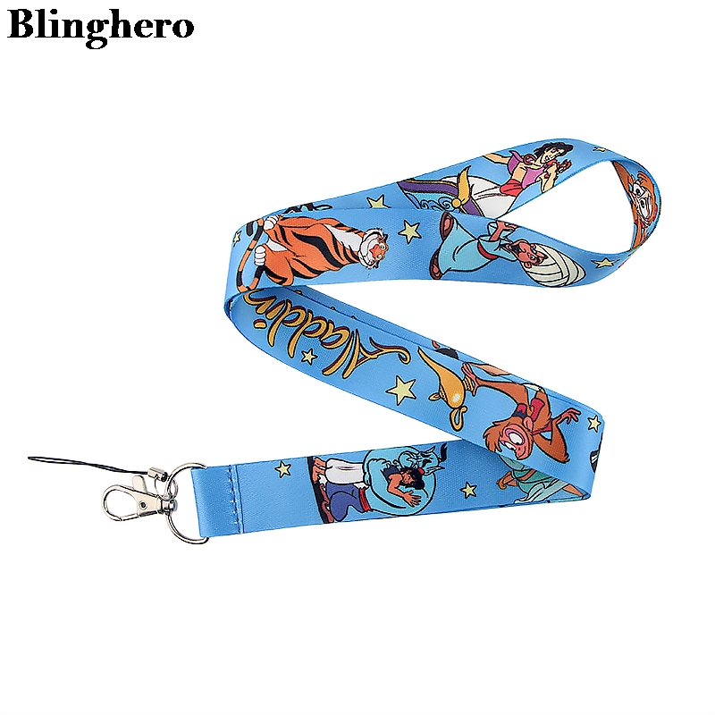 Blinghero Cartoon Lanyards For Keys Keychains Stylish Mobile Phone Neck Strap ID Badge Neck Strap Hang Rope Lanyards ZC0155