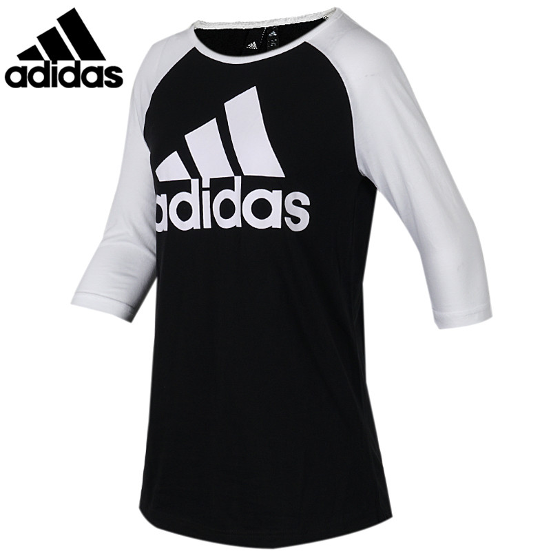 <font><b>Original</b></font> <font><b>Adidas</b></font> New Arrival W SID T-Shirt Middle Sleeve Tops Breathable Women Round Collar Running Shirt DI0105 image