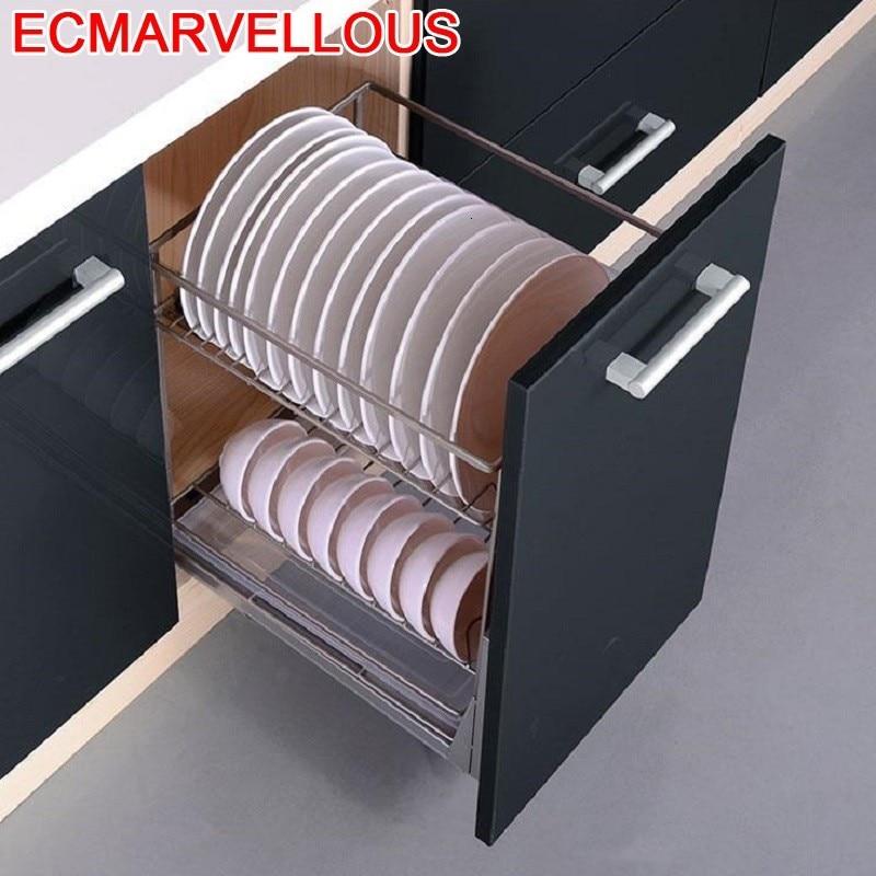 Para Organizar Kuchnia Armario De Despensa Organizador Cocina Cestas Corredera Organizer Cuisine Kitchen Cabinet Storage Basket