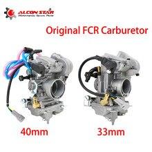 Alconstar Original FCR33 Slant Side Carburetor FCR40 Flatslide Carb FOR KTM XR DR KLX KLX400 DRZ 400S 400S 400E 33mm 40mm
