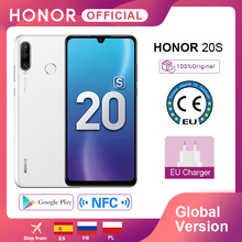 New Global Version Honor 20S 20 S Mobile Phones 6G 128G 6.15