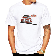 Casual T Shirt Austin Mini Classic 1275 Car Male 100% Cotton Short Sleeve Tee Shirts New Color Youth Design T-Shirt Tops
