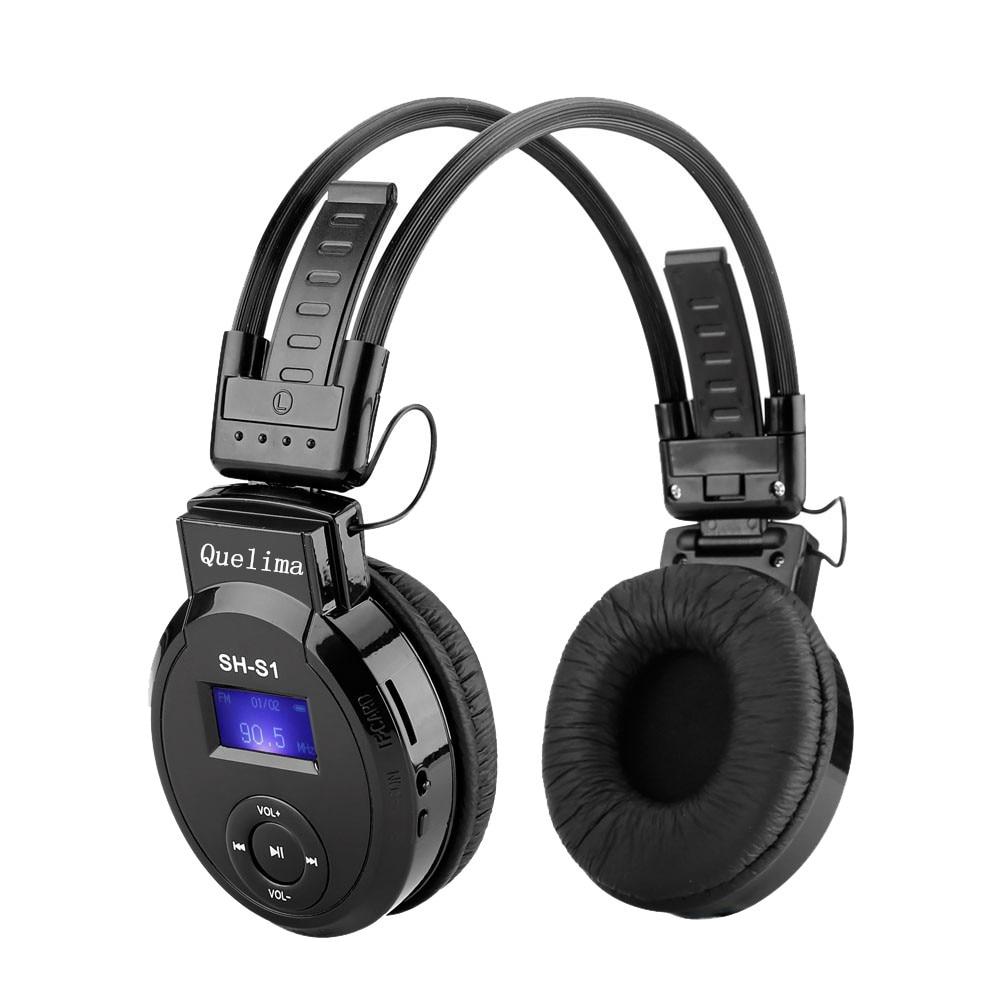 Новые портативные складные спортивные беспроводные наушники Bluetooth Hi-Fi стерео TF-карта гарнитура аудио Mp3 регулируемые наушники с микрофоном