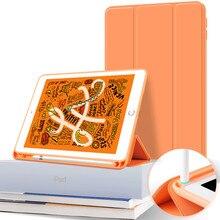 Caso para ipad pro 11 12 .9 2020 caso com suporte de lápis capa inteligente para ipad 10.2 ar 3 4 2 pro 10.5 11 2018 7th gen funda capa
