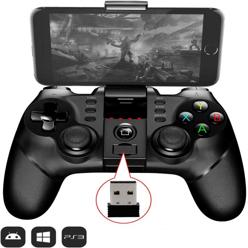 Bluetooth 2.4G wireless controller for Android iOS mobile phone for Windows <font><b>laptop</b></font> wireless game console <font><b>Joystick</b></font> Gamepad image