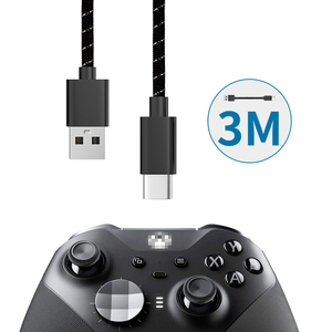 Controller Fast Charging Cable USB Type-C Charging Cable 3M Data Transmission for XBOX One Elite 2 NS Switch Pro Accessories