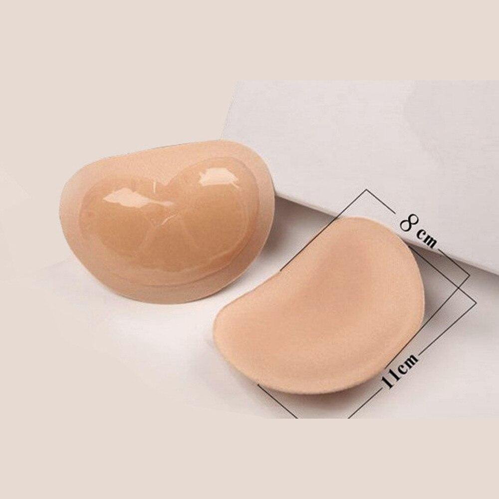 SAGACE Invisible Heart Padding Magic Bra Insert Pads Push Up Silicone Self Adhesive Breast Enhancer Women Intimates Breast Lift