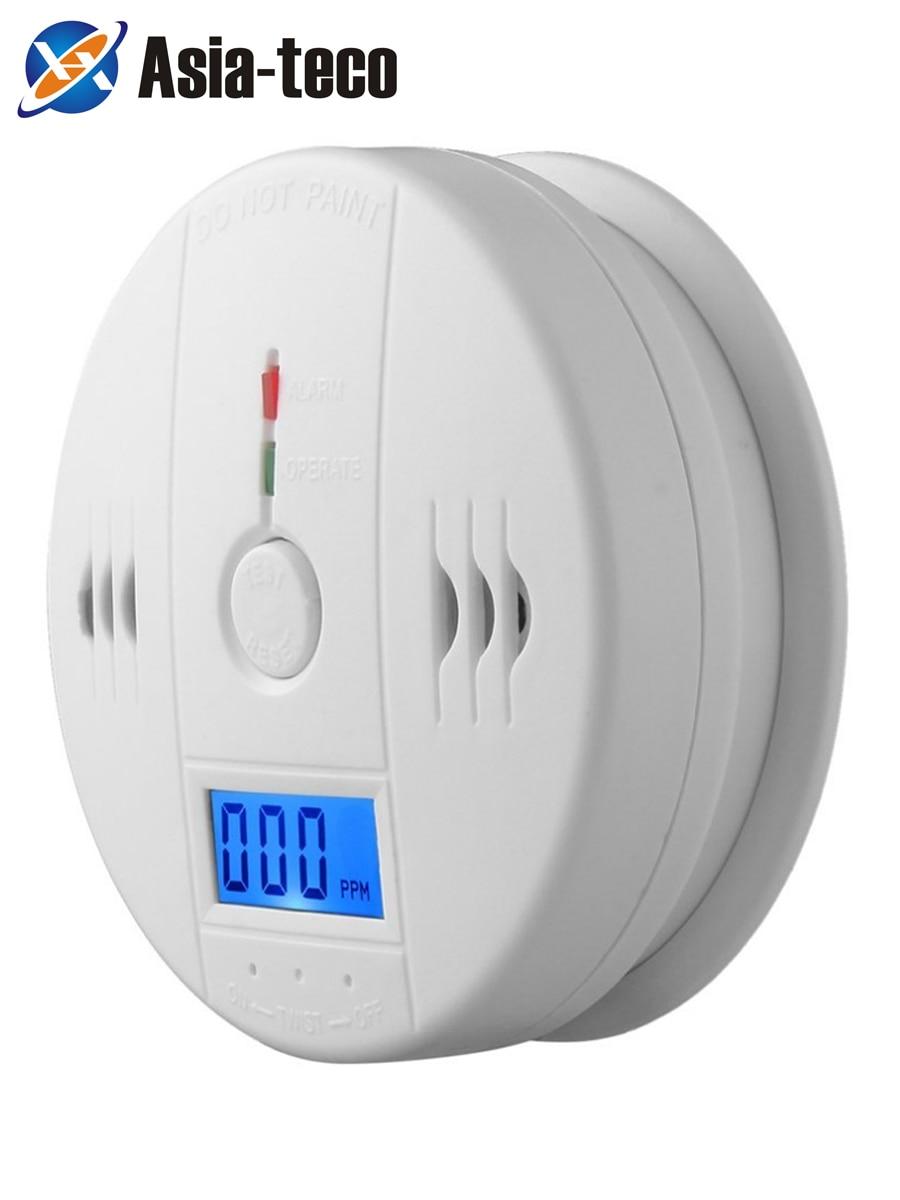 LUCKING DOOR 85dB LCD CO Sensor Carbon Monoxide Poisioning Detector Carbon Monoxide Alarm Detector-in Carbon Monoxide Detectors from Security & Protection