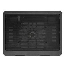 Новое поступление ультратонкая охлаждающая подставка под ноутбук Регулируемая подставка Тетрадь вентилятор USB компьютера кронштейн для охлаждения