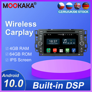 Android10.0 DSP PX5 PX6 4G+ 64GB Multimedia Player GPS Navigation For Chevrol Aveo 2004-2011 Car DVD Player Auto Radio Head unit image