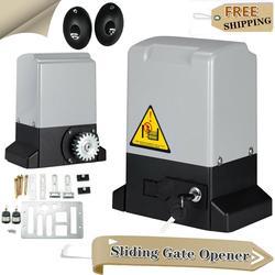 1200 кг 550 Вт автоматические электрические раздвижные ворота мотор открывалка ворота раздвижные Gautomatic комплект с инфракрасным датчиком + 4 × 4 ...