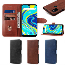 For Umidigi A5 Pro A7 Pro Case Leather Flip Stand Wallet with Card Slots and Magnetic Buckle Cover Umidigi A3S Power 3 F2 Case luxury business genuine leather magnetic holder thin case for umidigi a5 pro umidigi a3 umidigi a3 pro flip holster cover capa