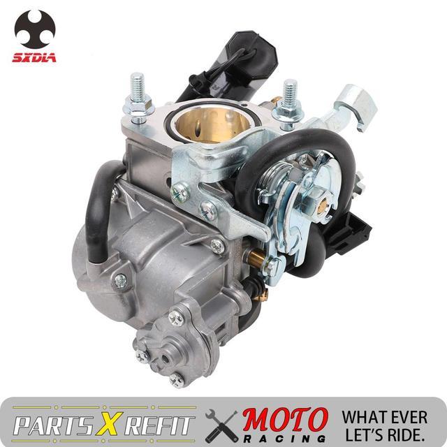 Carburador de motocicleta con Power Jet, para Majesty YP250 Linhai 250 Marquesa TK 250 ATV