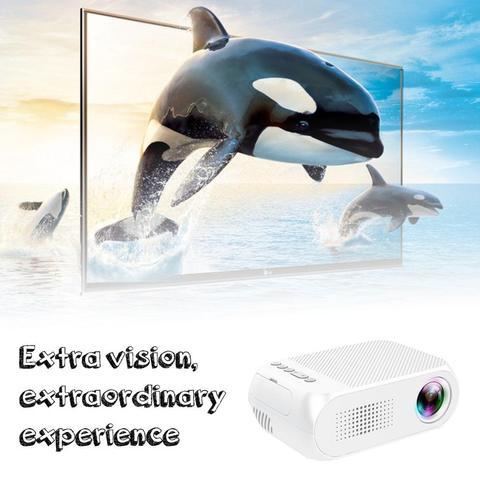 yg320 mini portatil led projetor usb hdmi cinema em casa projetor para o telefone movel
