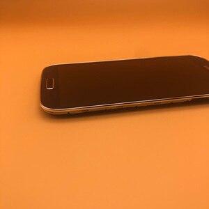 Image 1 - 5.0 süper AMOLED LCD ekran dokunmatik ekran Digitizer için SAMSUNG Galaxy S4 GT i9505 i9500 i9505 i9506 i337 LCD çerçeve