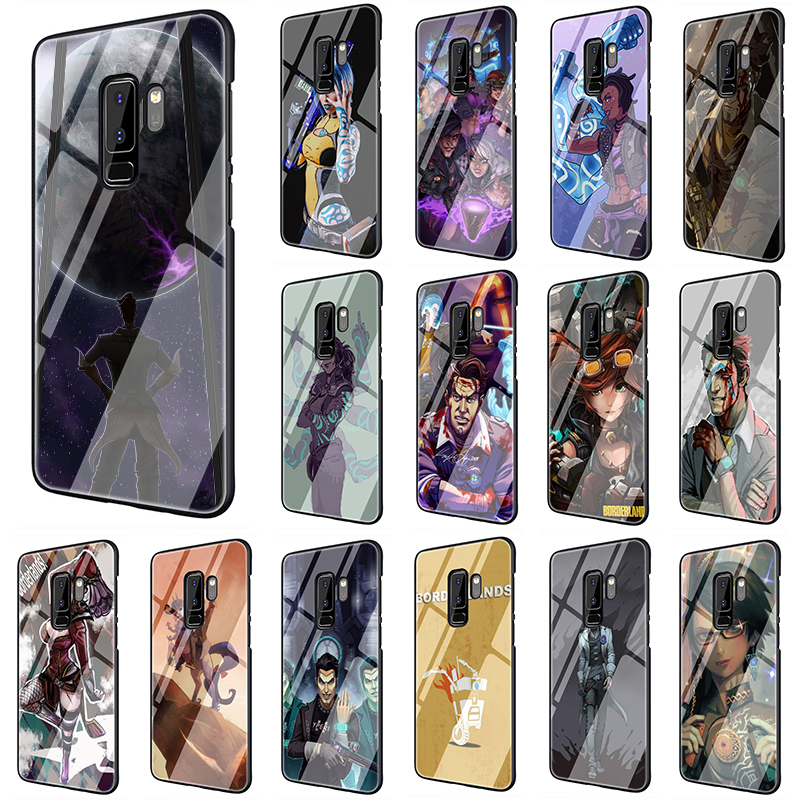 Hot Video game Borderlands Tempered Glass <font><b>phone</b></font> <font><b>case</b></font> for <font><b>Samsung</b></font> <font><b>S7</b></font> Edge S8 S9 S10 Note 8 9 10 Plus A10 20 30 40 50 60 70 image