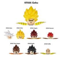 Мини Экшн-фигурки из серии «Драконий жемчуг Z SSJ Son Goku Raditz Recoom King Vegeta Krillin», игрушки