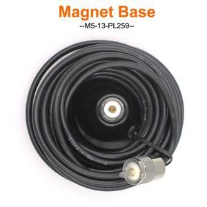 Image 4 - Магнитный фидерный кабель, диаметр 12 см, 5 м, PL259, магнитное крепление для автомобильной антенны, основание для автомобильного радиоприемника, для автомобиля, для радио, для автомобиля, с магнитом, для автомобиля, 5 м, KT8900, 1, 5 м, 1, 5 м, 1, 5 м, 1, 1, 1, 5 м, 1, 5 м, 5 м, 5
