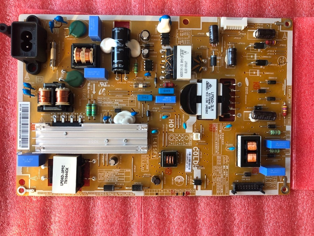 Test d'origine Latumab 100% pour carte d'alimentation Samgsung UA46F5000HJ BN44-00610D/L46SFV_DSM