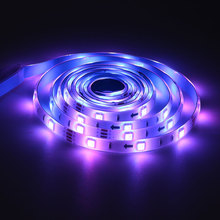 Creative Music Led Strip Light 2M/5M 5V USB Powered 5050 Music String Light Rgb Light IP65 Waterproof Color Changing With Music