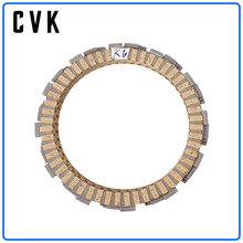 CVK 1Set Clutch Disc Friction Plates Engine  For Suzuki GSX-R 600 750 GSXR600 GSXR750 K6 K8 L0 2006 2007 2008 2009 2010 motorcycle fairings for suzuki gsxr gsx r 600 750 gsxr600 gsxr750 2008 2009 2010 k8 abs plastic injection fairing bodywok kit sw