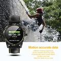 ABKT-COLMI SKY 1 Смарт-часы для мужчин IP68 Водонепроницаемый трекер активности фитнес-трекер умные часы с полями для Android Iphone IOS P