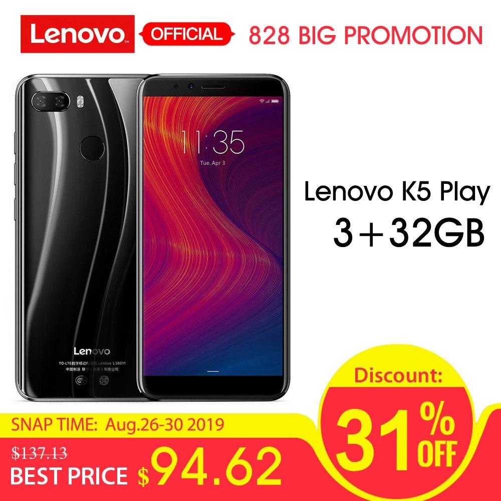 Lenovo K5 Play L38011 3GB 32GB 4G Mobile Phone 5.7