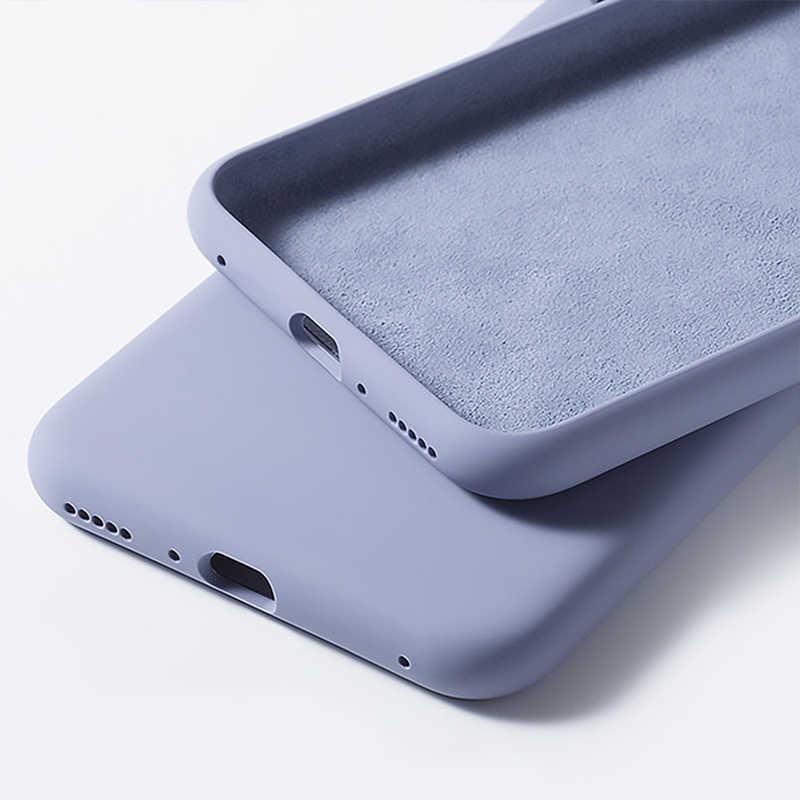 Pour Capa Xiaomi Redmi K20 Pro étui liquide microfibre couleur bonbon Silicone Ultra mince étui de téléphone pour Xiaomi Redmi K20 Pro housse