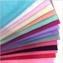 5meters/lot Soft Tulle Gauze Fabric Solid Color Curtain Mesh Ground Tulle Roll For Wedding Decoration(China)