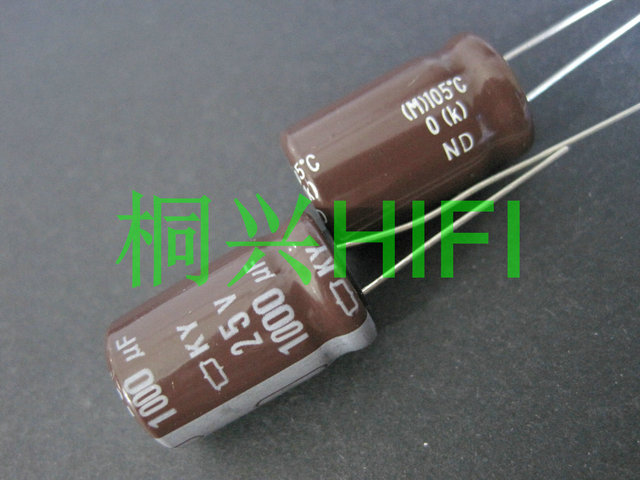 20pcs חדש CHEMI CON ניפון KY 25V1000UF 12.5x20MM קבל אלקטרוליטי 1000UF 25V NCC ky 25v 1000uf