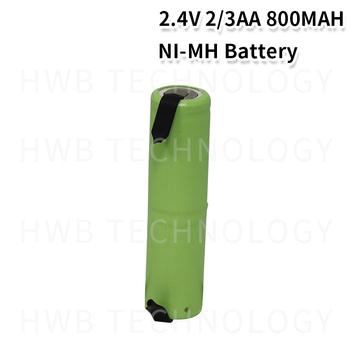 1 sztuk partia NI-MH 2 3AA 800MAH 2 4V akumulator elektryczny akumulator darmowa wysyłka tanie i dobre opinie NoEnName_Null 2 3AA 2 4V Baterie Tylko 1pcs 15 * 56 mm Pakiet 1 1 2V