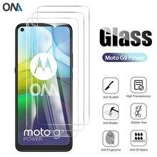 Protecteur d'écran en verre trempé, 3 pièces, Film de protection pour Motorola Moto G9 Plus