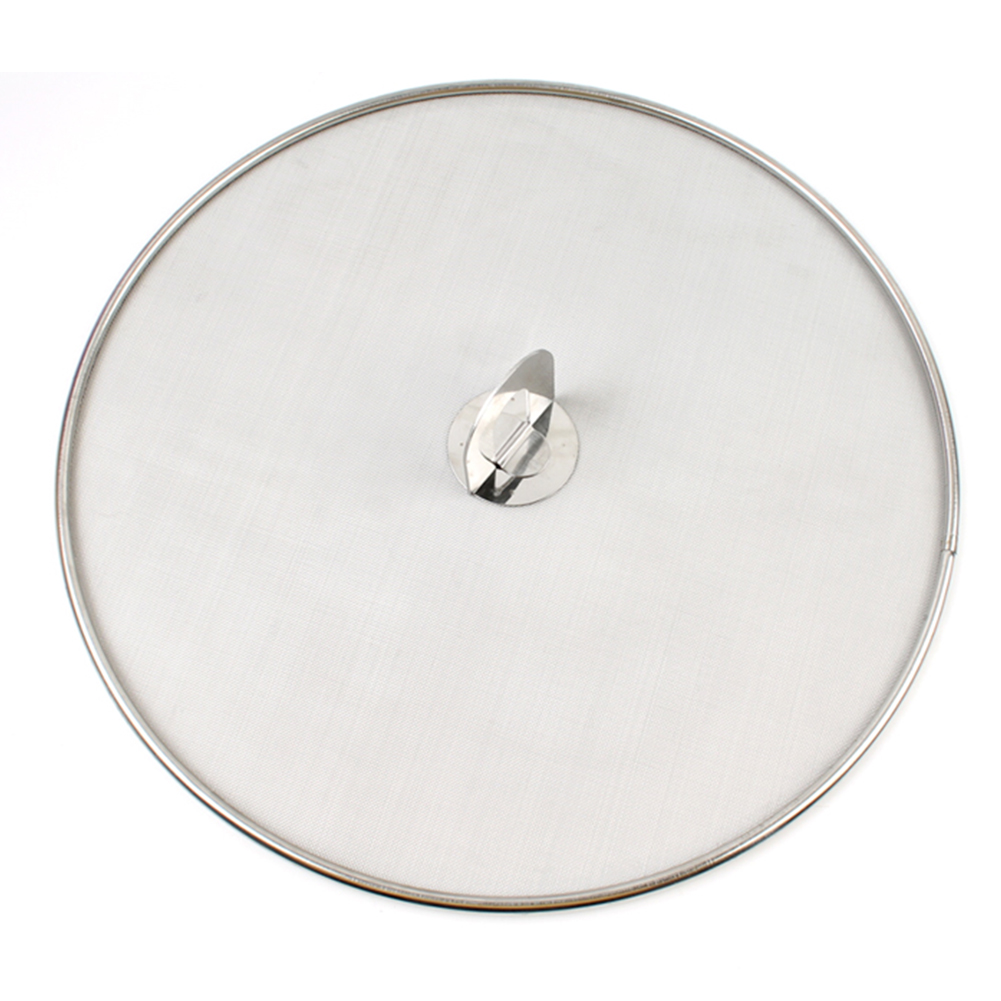 High Temperature Resistant Pan Lid Oil Resist Stainless Steel Practical Mesh Protective For Frying Pan Splatter Screen Durable(China)