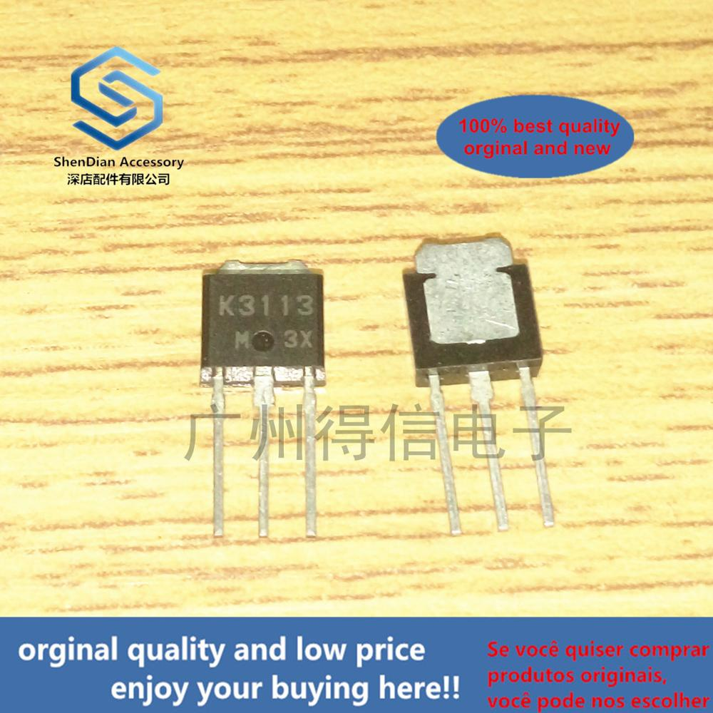 10pcs 100% New And Orginal 2SK3113 K3113 3113 TO-251 SWITCHING N-CHANNEL POWER MOSFET In Stock