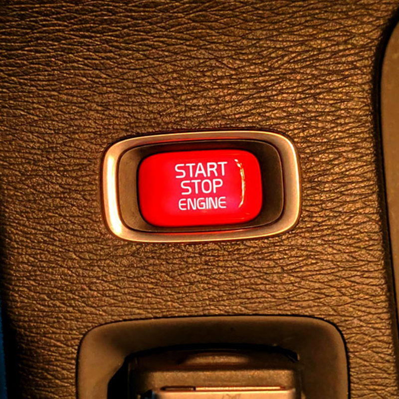 Car Engine Start Button Replace Cover Stop Swtich Key Decor Car Styling For Volvo V40 V60 S60 XC60 S80 V50 V70 XC70