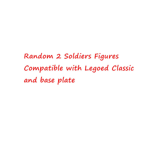 2 soldiers figures