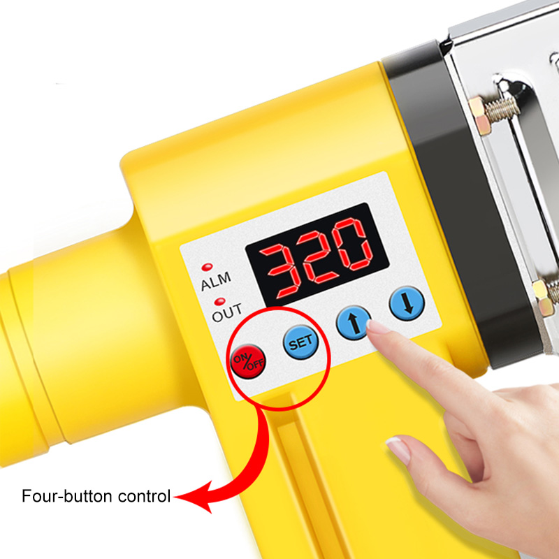 home improvement : PPR PB Pipe Welding Machine Pipe Heat Container Hydroelectric Engineering Household Welding Machine Tube Welder Hot Melt Tools