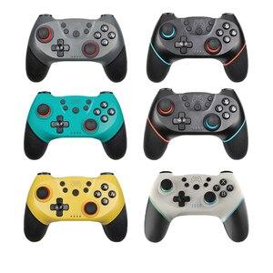 Image 1 - Bluetooth Draadloze Pro Controller Remote Gamepad Voor Nintend Schakelaar Pro Console Voor Ns Voor Pc Controle Joystick