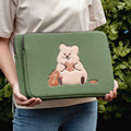 13 дюймовый толстый чехол для планшета Mac Cute Bear Girl 11 дюймов iPad Air Sleeve сумка подкладка сумка для хранения ноутбука для iPad Air 4 10,5 дюймов Ins