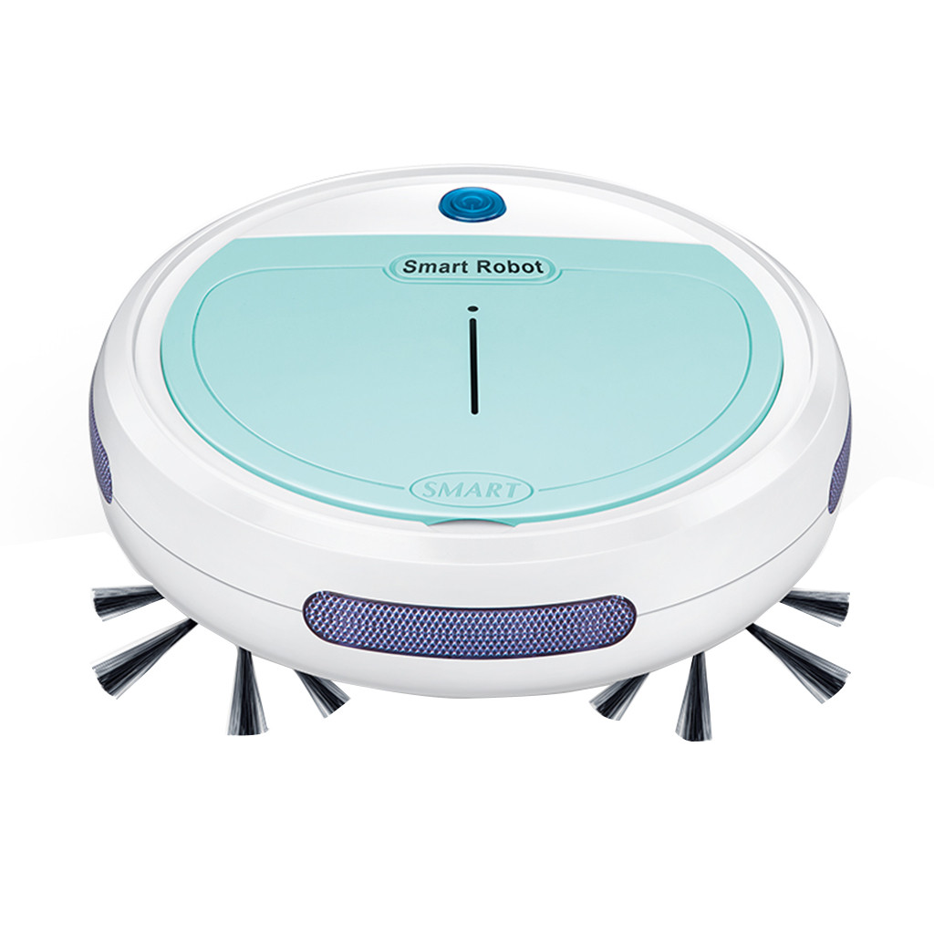 HIPERDEAL Smart Home 3-in-1 Rechargeable Automatic Ultra-thin Smart Robot Vacuum Cleaner Edge Cleaning Suction Sweeper