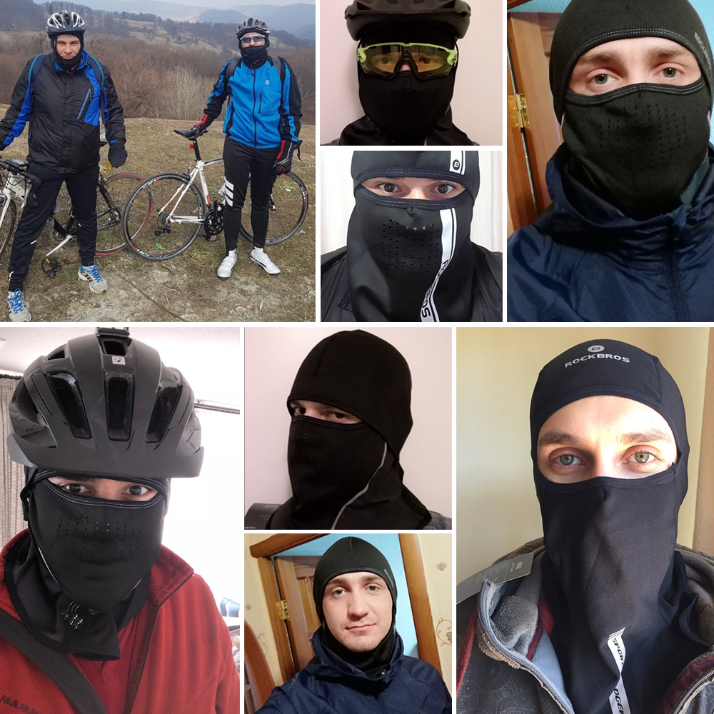 Winter Ski Mask Cycling Skiing Running Sport Training Face Mask Balaclava Windproof Soft Keep Warm Half Face Mask